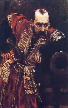 И.Репин «Гетман» (1910) – портрет Василия Тарновского (младшего)