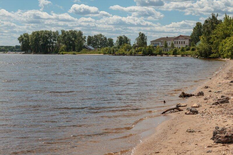 Залив в Чкаловске