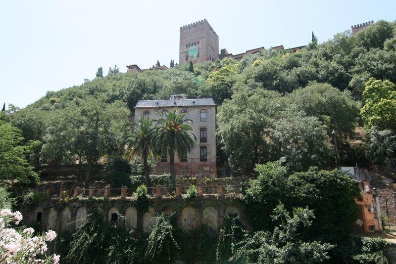 Гранада, вид на Альгамбру