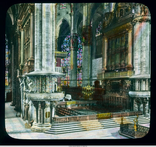 Milan. Cathedral (Duomo): interior, east end