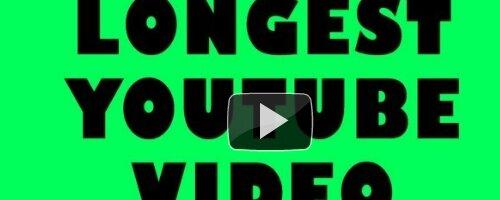 Самый длинный видеоролик, загруженный на YouTube, длится 596 часов
