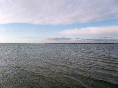 Море. Октябрьский велопробег по косе