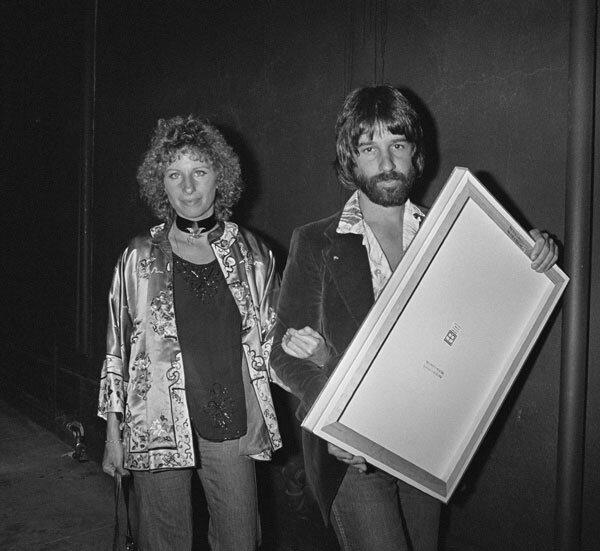 Barbara Streisand And Jon Peters Leave The Roxy