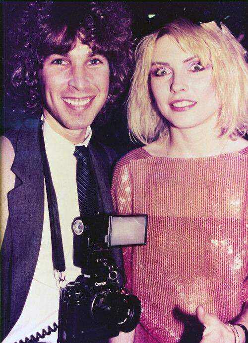 Brad and Debbie Harry of Blondie 1978