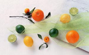 новогодний запах мандаринов