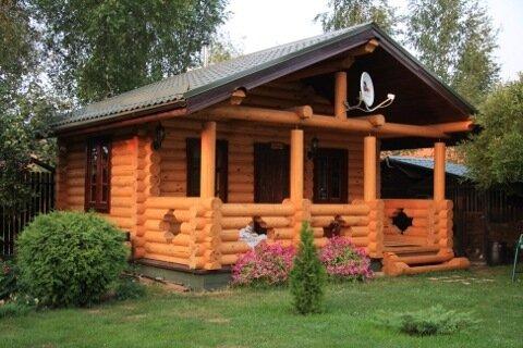 КР 02-01 готовый бревенчатый дом продажа