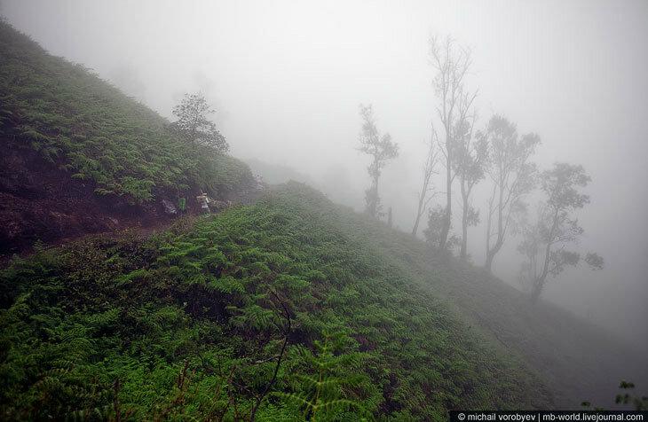 Кратер вулкана Кава Иджен