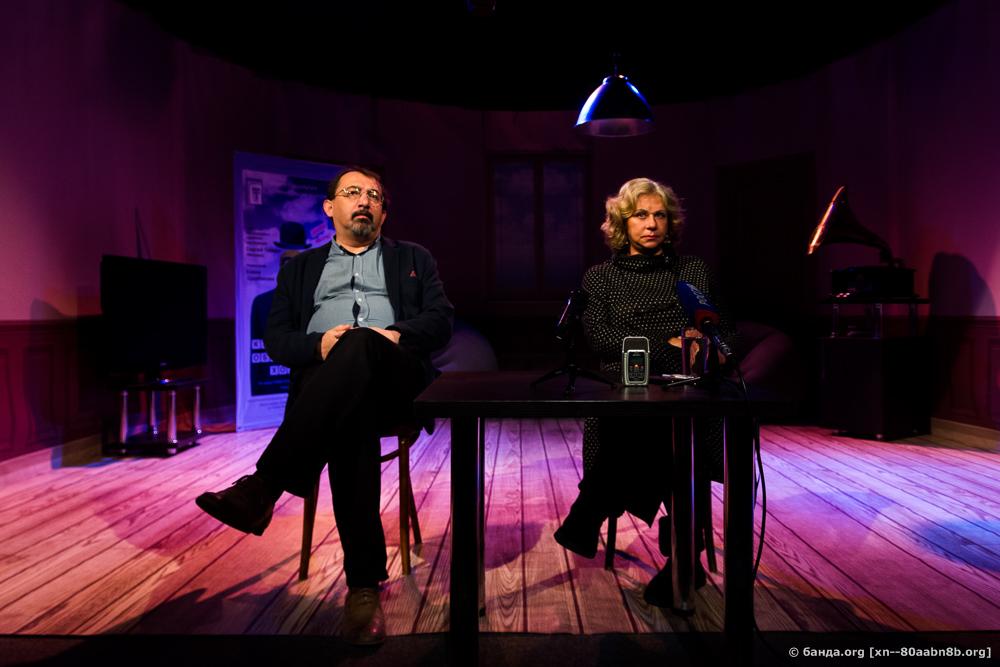 Пресс-конференция в Молодежном театре / Анастасия Ефремова