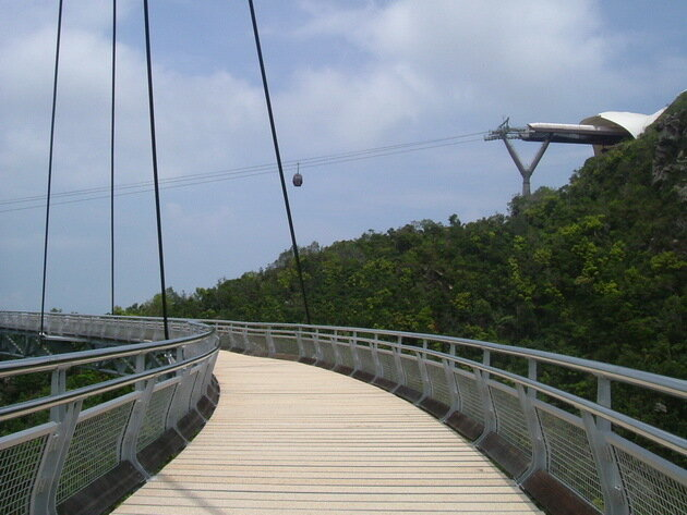 Небесный мост (Langkawi Sky Bridge). Малайзия