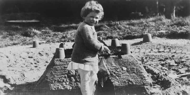 HM Queen Elizabeth II (b.1926) when Princess Elizabeth of York  circa 1929