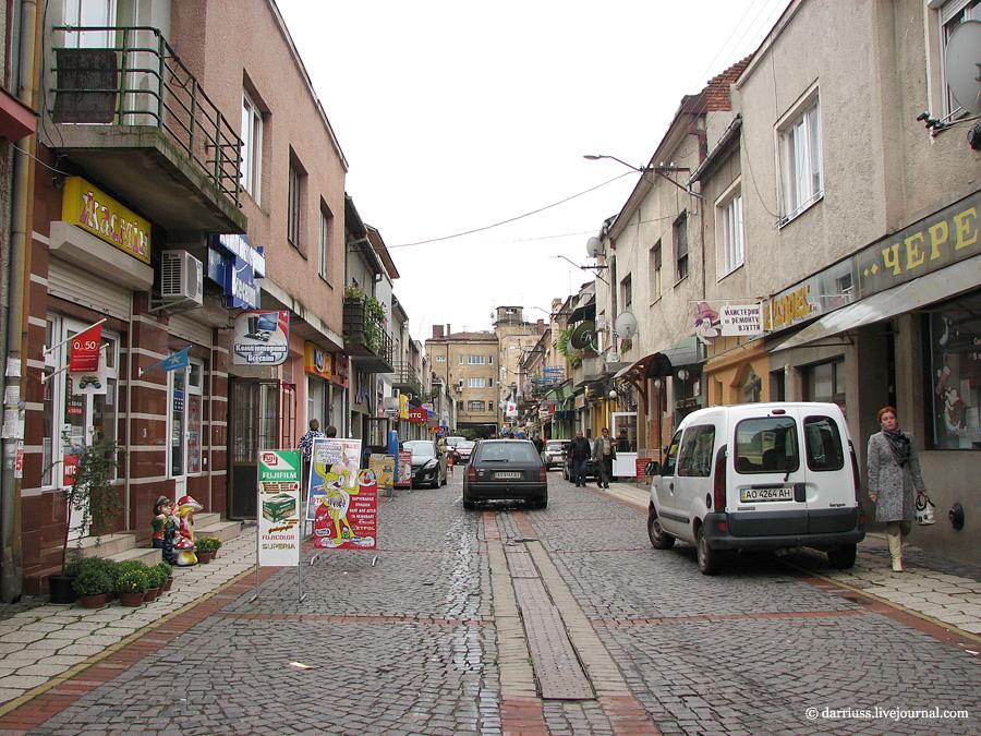Мукачево: ул. Достоевского в 2011
