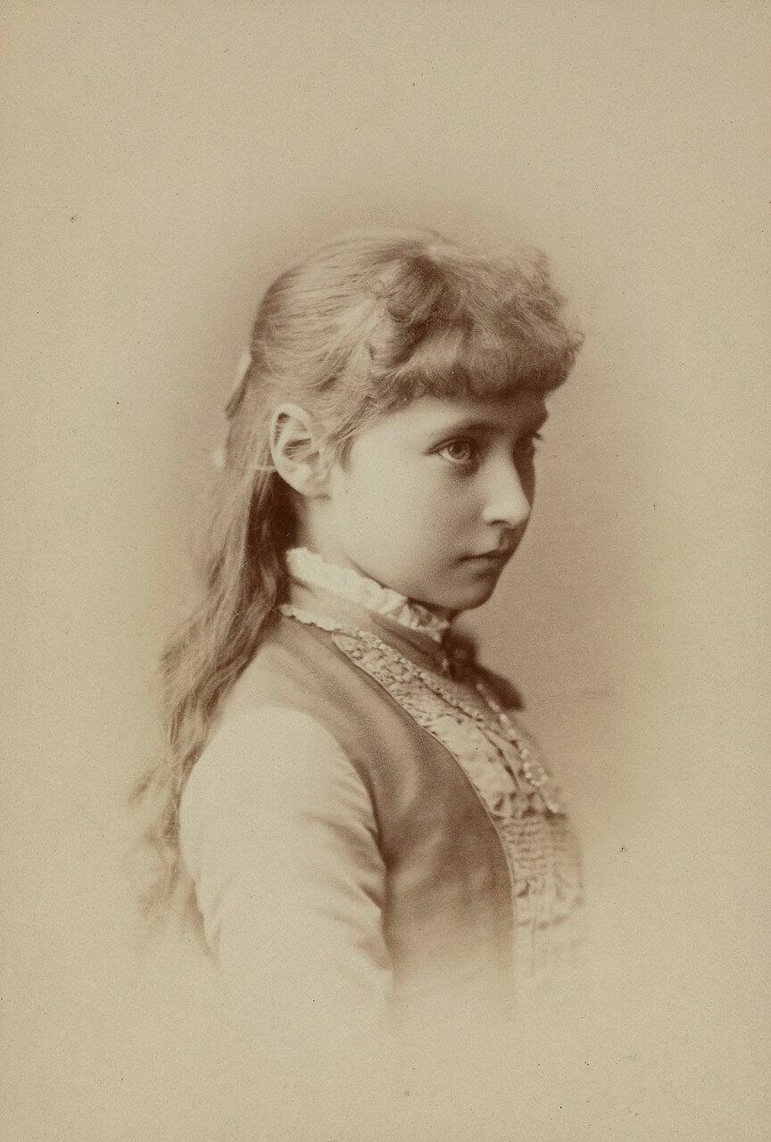 1884. .  Принцесса Виктория Алиса Елена Луиза Беатриса Гессен-Дармштадтская