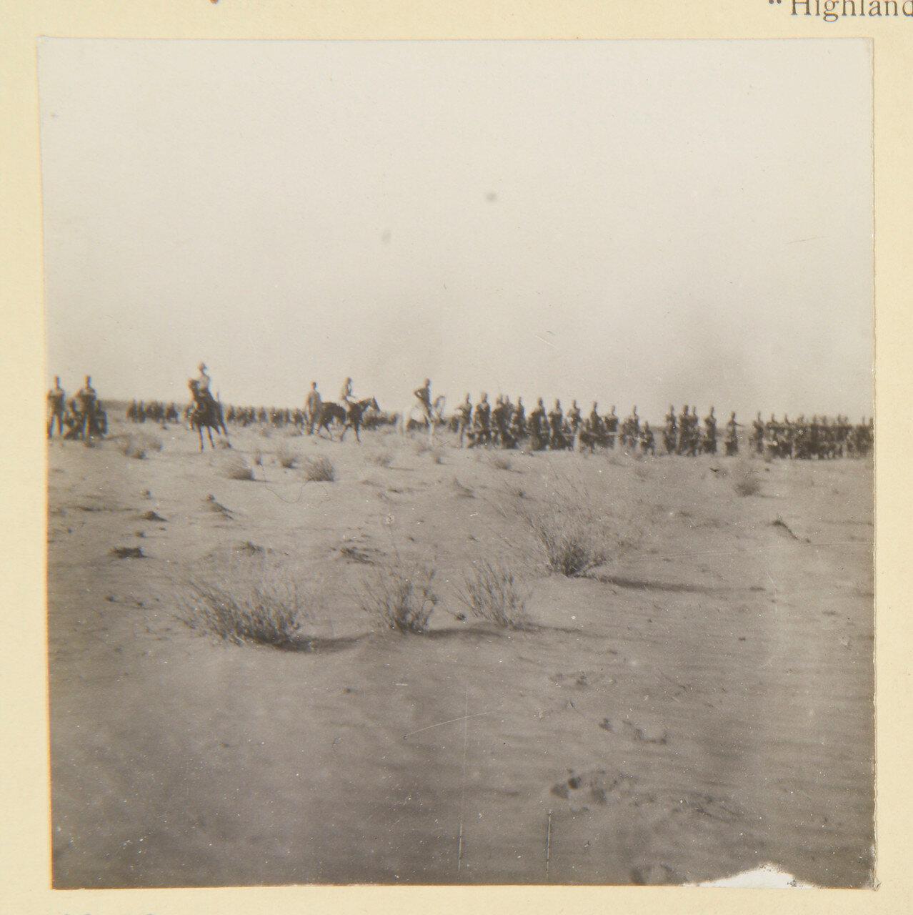 Август 1898. Лагерь 4-го Египетского батальона в Вад Хамиде