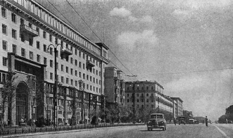 Улица Спартака. Дом облисполкома. 1938 г.