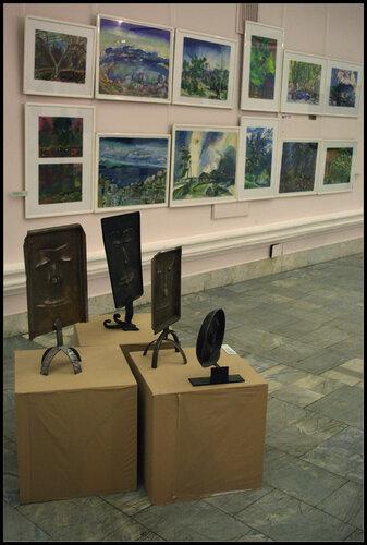 Выставка художника Феликса Волосенкова