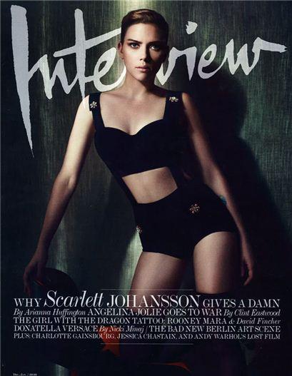 Scarlett Johansson by Solve Sundsbo / Скарлетт Йоханссон в журнале Interview Magazine, декабрь 2011 / январь 2012
