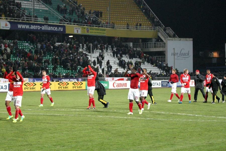 «Кубань» vs «Спартак» 1:1 Премьер-лига 2011-2012 (Фото)