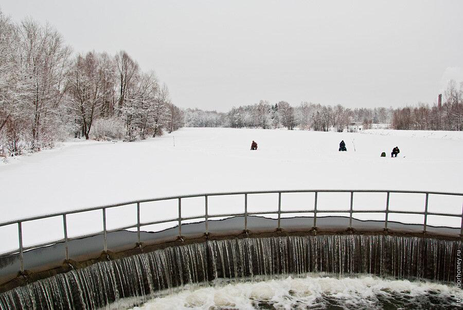 зимняя рыбалка в сарове