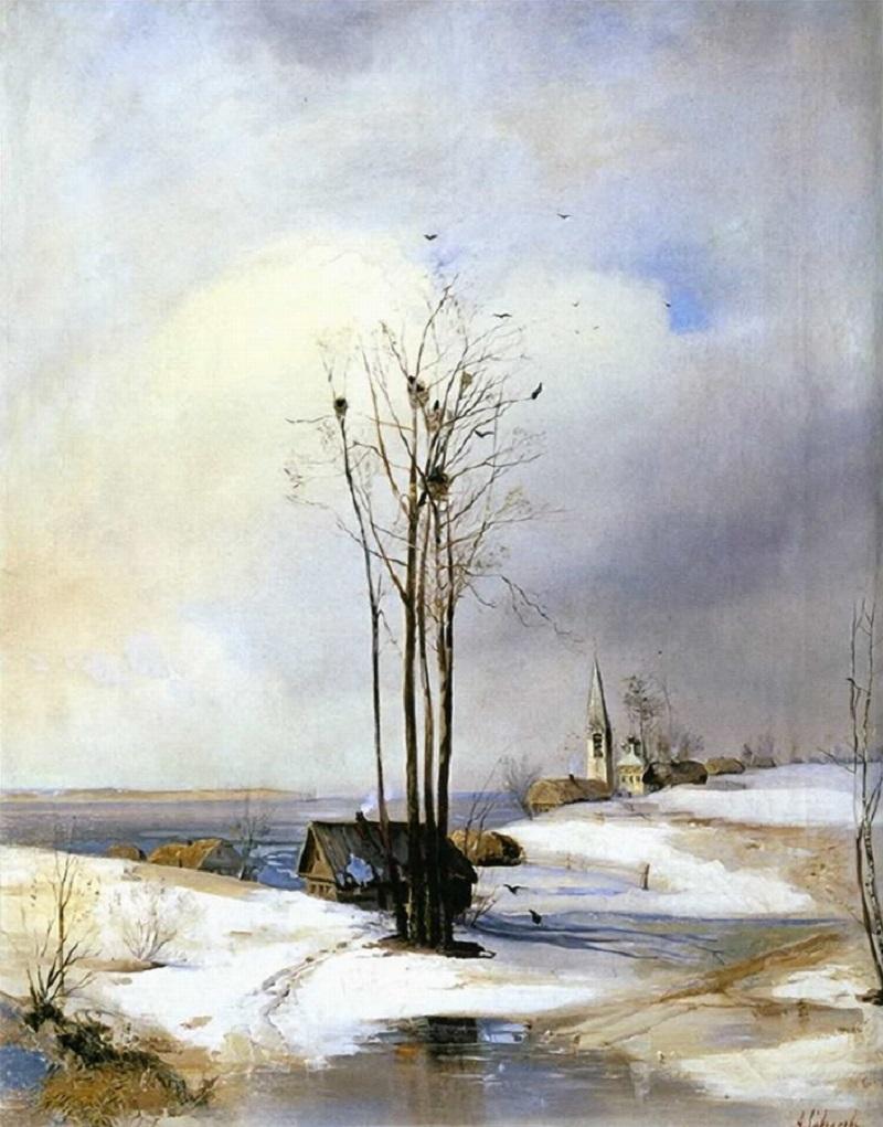 Ранняя весна. Оттепель. 1880-е.jpg