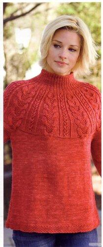 浮雕圆肩衣 - 编织幸福 - 编织幸福的博客