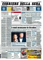 Журнал Il Corriere della Sera (29 Agosto 2014)