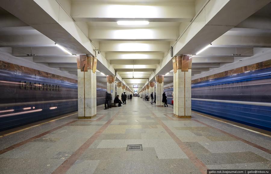 Метро Новосибирска сегодня (2011) .