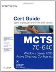 Книга MCTS 70-640 Cert Guide: Windows Server 2008 Active Directory, Configuring