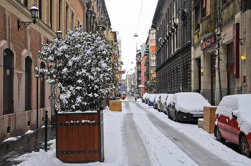 Улица после метели