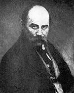 Тарас Григорьевич Шевченко (на портрете И. Репина)