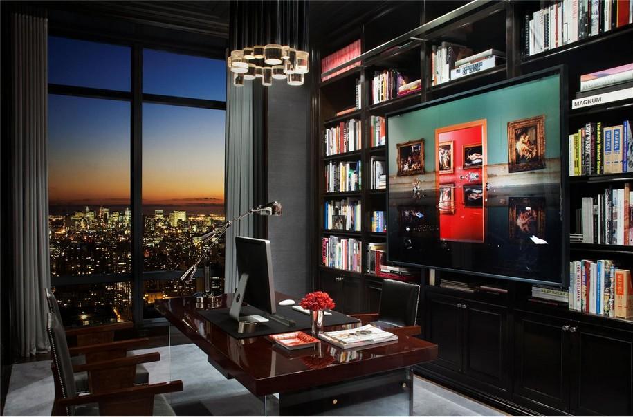 Потрясающий пентхаус на 77-м этаже в Нью-Йорке