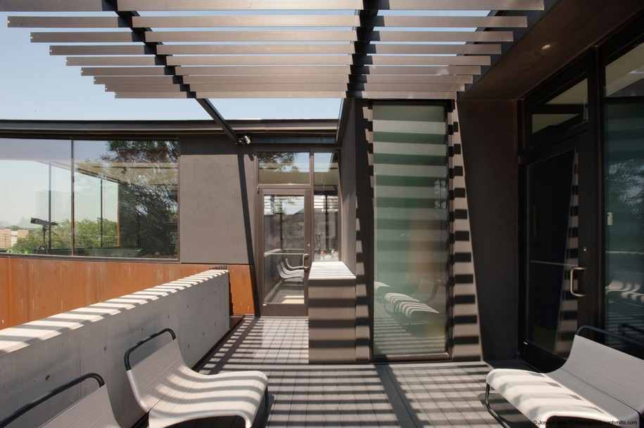 Интересный дизайн дома в Оклахома-Сити