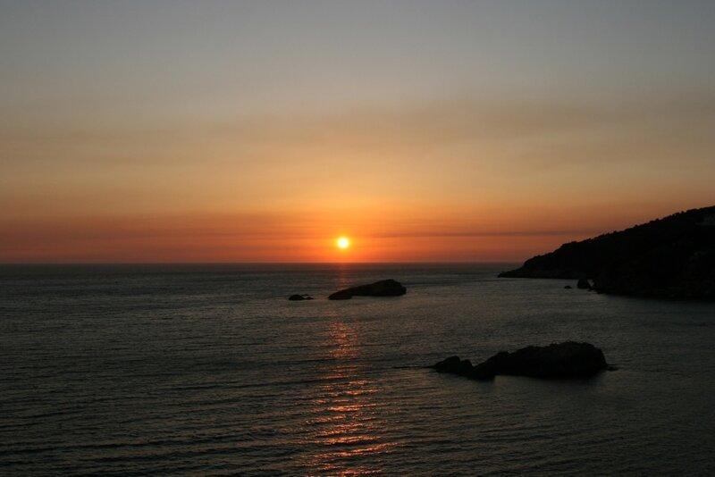 Закат над Адриатикой