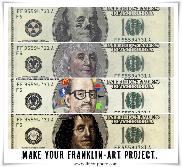Make your Franklin is a community art project.