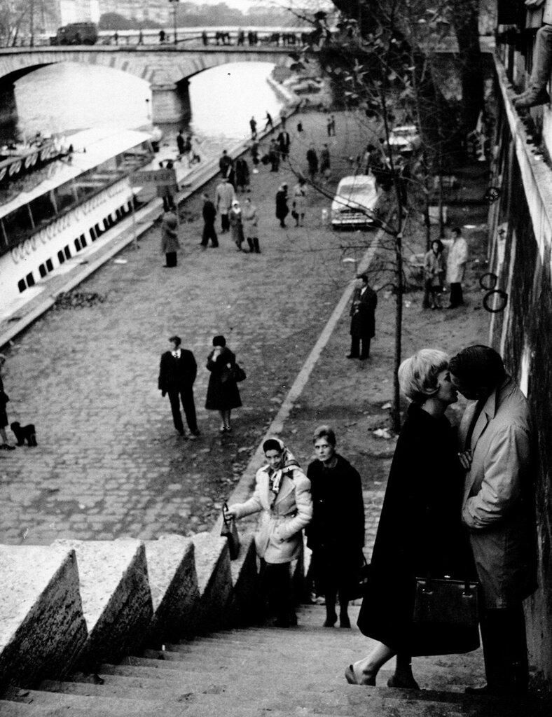 Paul Newman & Joanne Woodward, 1961