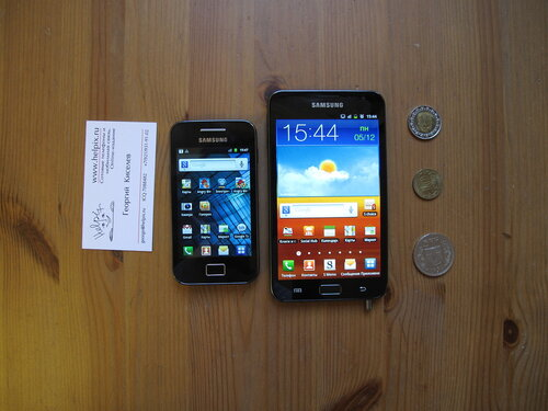 Samsung Galaxy Note vs Samsung Galaxy Ace