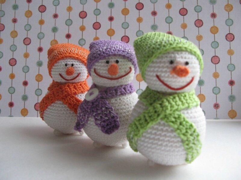 Вязаные новогодние игрушки своими руками фото