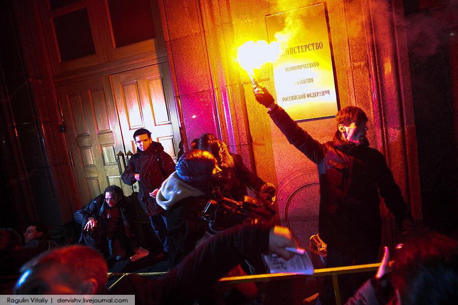 Москва в день Выборов. Без насилия не обошлось