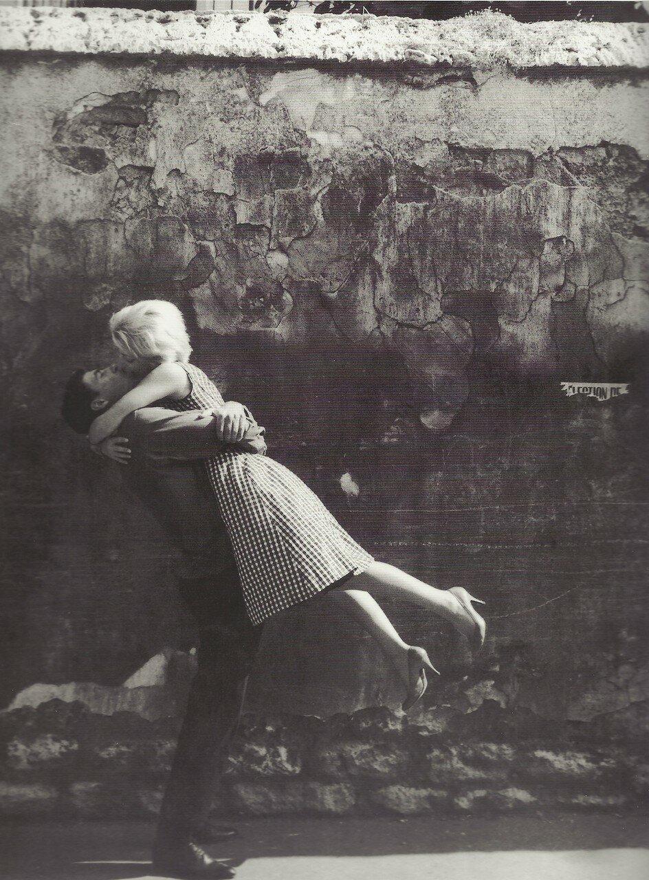 1959. Целующаяся пара. Париж