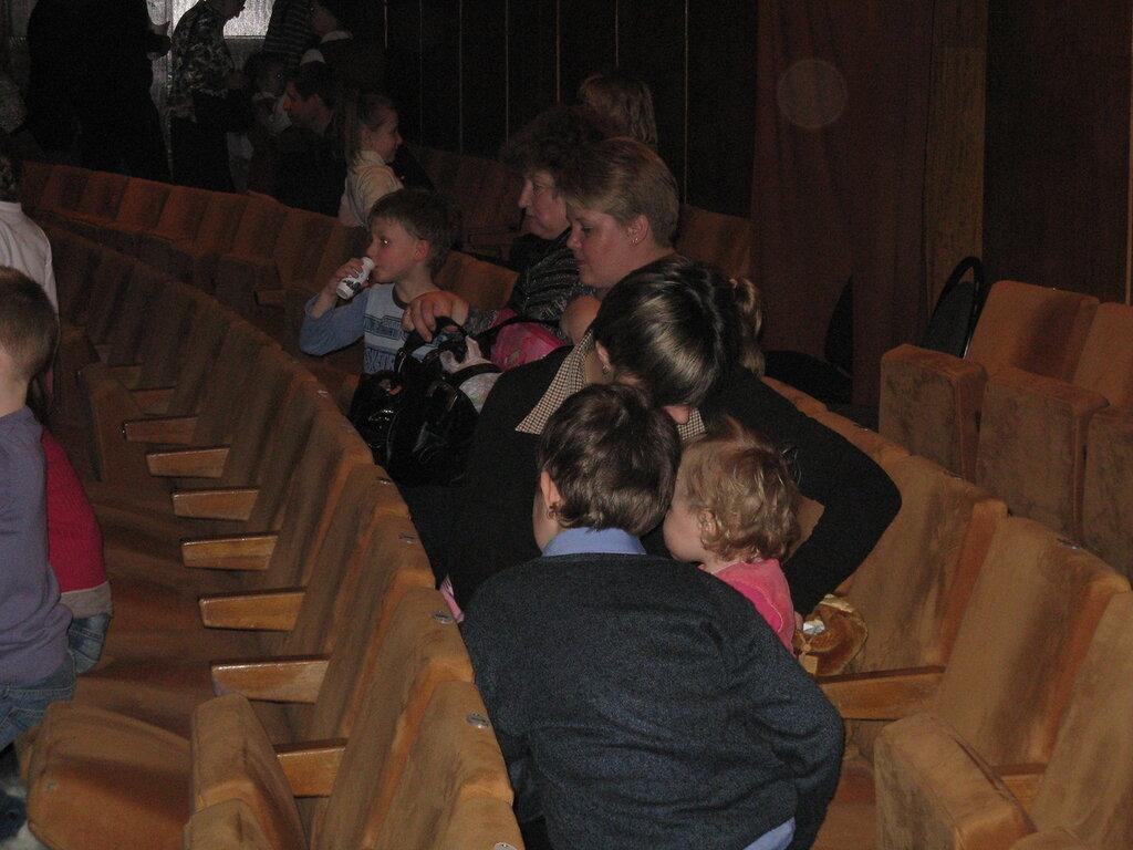 театр Кукол. Зрительный зал.