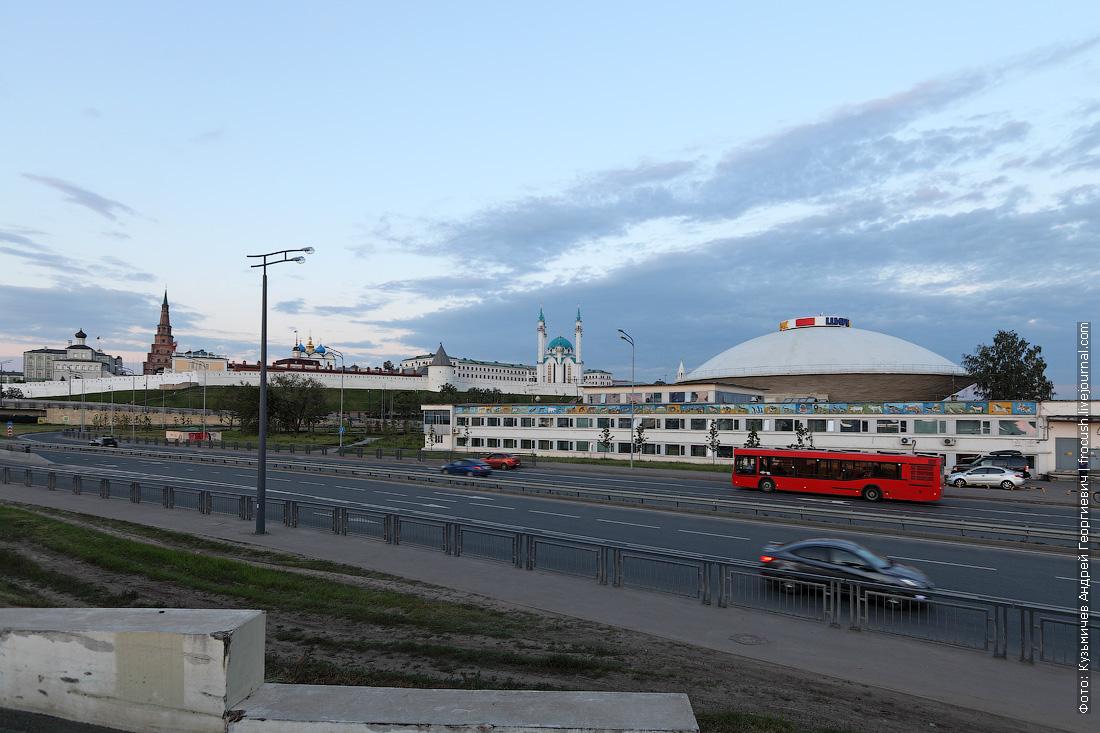 Казанский кремль и цирк Казани