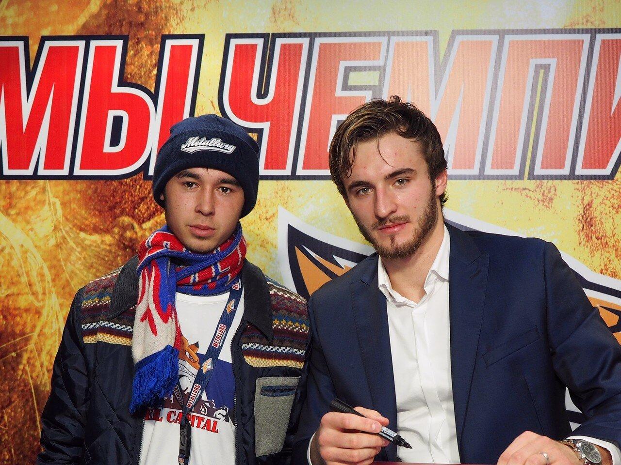 107 Томаш Филиппи Металлург - Барыс 13.10.2016