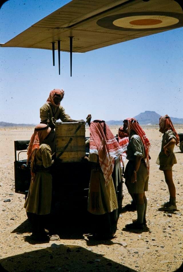 1956 Yemen Aden Protectorate - Mukalla. Fort Hussein, El Abr by Brian Brake.jpg