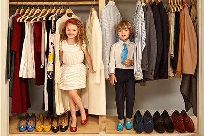 Salvatore Ferragamo прививает детям взрослую моду