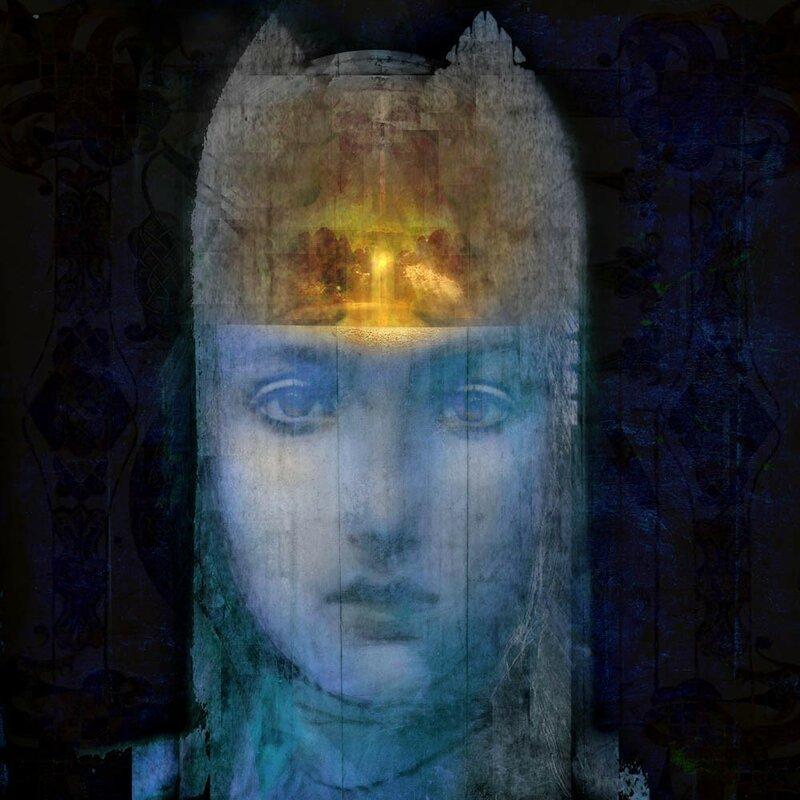 . Черные глаза, восточной красавицы, манят, словно омут ночных звезд. Suhair Sibai