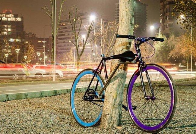 Yerka – это велосипед, точнее байк, который сам себя великолепно защищает, путем отсоединения ег
