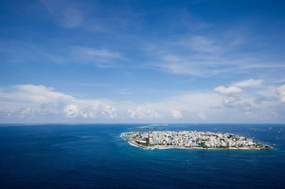 Мале — город в океане