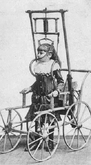 5. Спинной аппарат доктора Кларка рекламировался в 1878 году как прибор, позволяющий людям с проблем