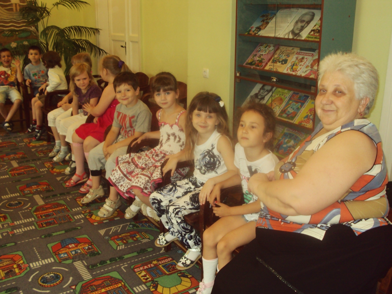 по лесной тропинке,чарушин,юбилей писателя,пропаганда чтения,донецкая республиканская библиотека для детей