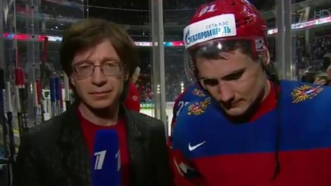 Перепутавшего хоккеистов сборной России корреспондента отстранили отэфира
