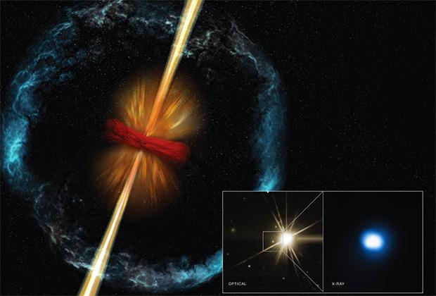 Астрономы: многие гамма-всплески остались незамеченными